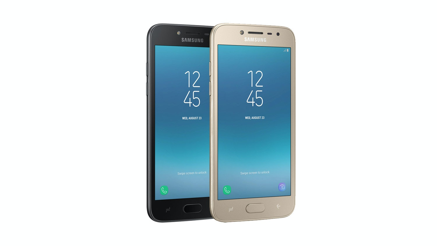Samsung Galaxy J2 Pro - Gold & Black