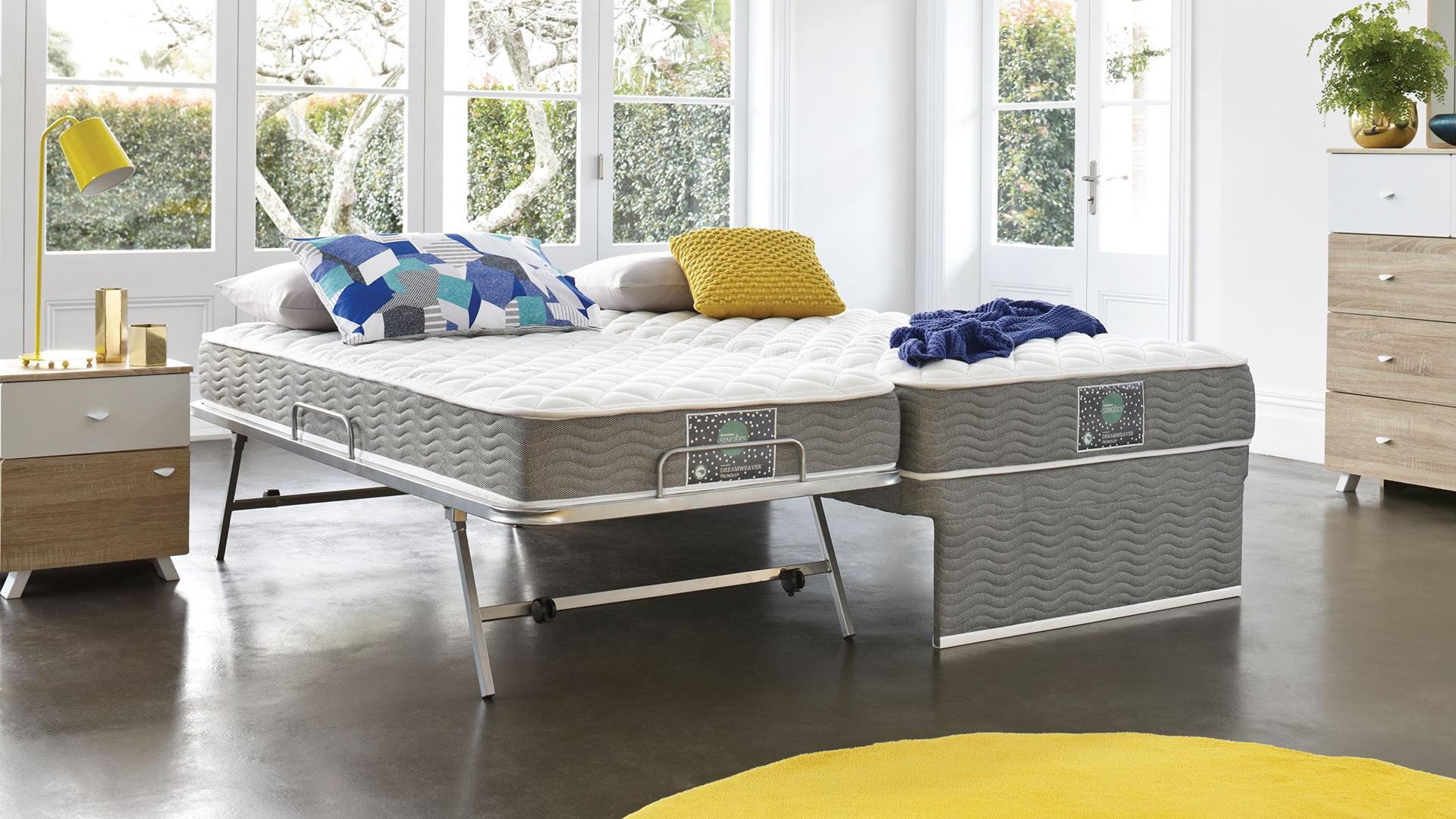 Dreamweaver King Single Trundle Bed by Sleepmaker