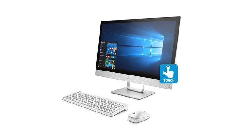 HP Pavilion 24-R030A All-in-One Desktop - left