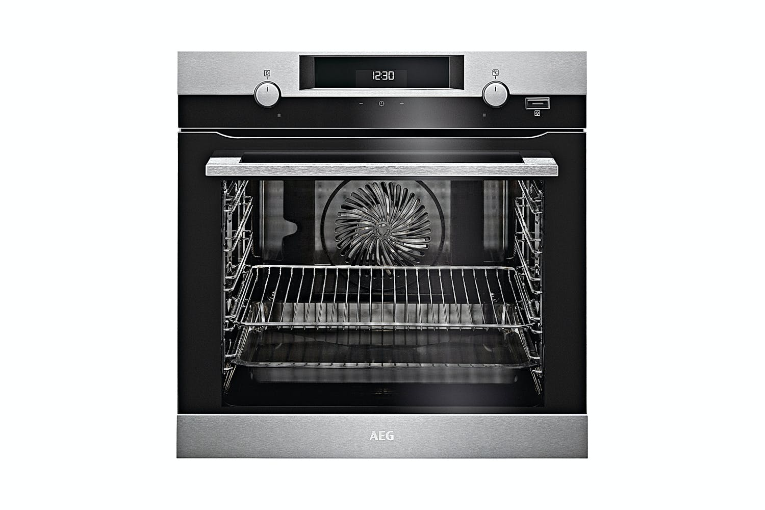 Image of AEG 60cm 9 Function SteamBake Oven