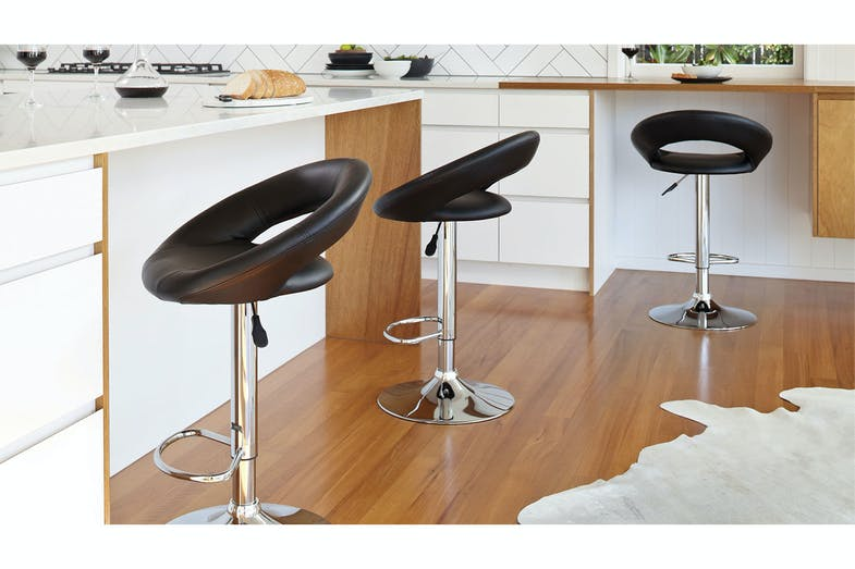 Camaro Bar Stool - Black