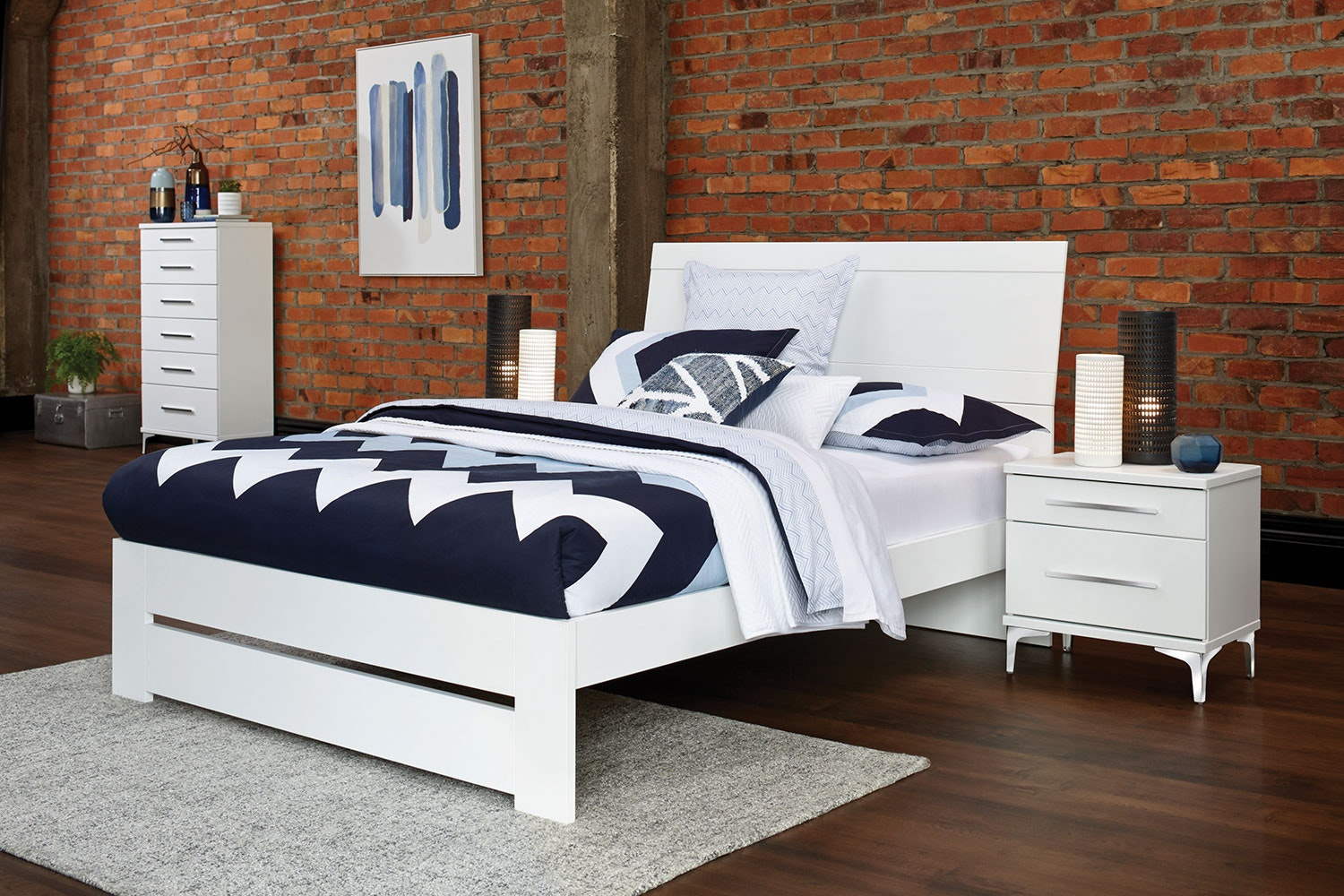 Salento Queen 4 Piece Bedroom Suite by Platform 10