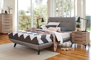 Jetson Queen Bed Frame by Nero Furniture