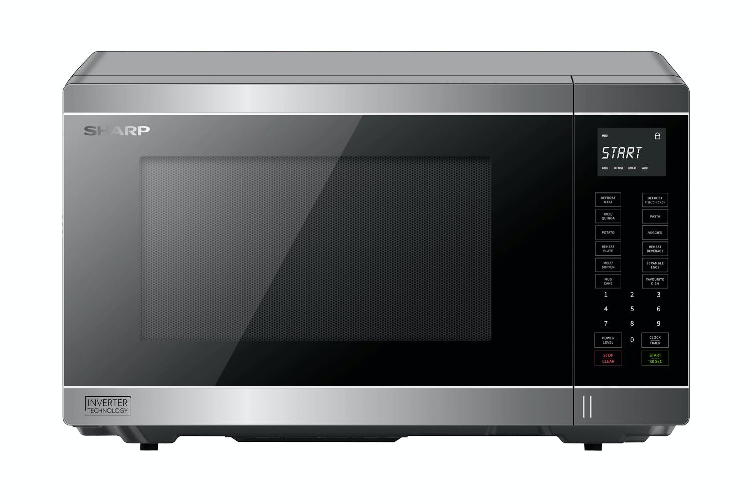 Image of Sharp Mid Size Smart Inverter Microwave Oven