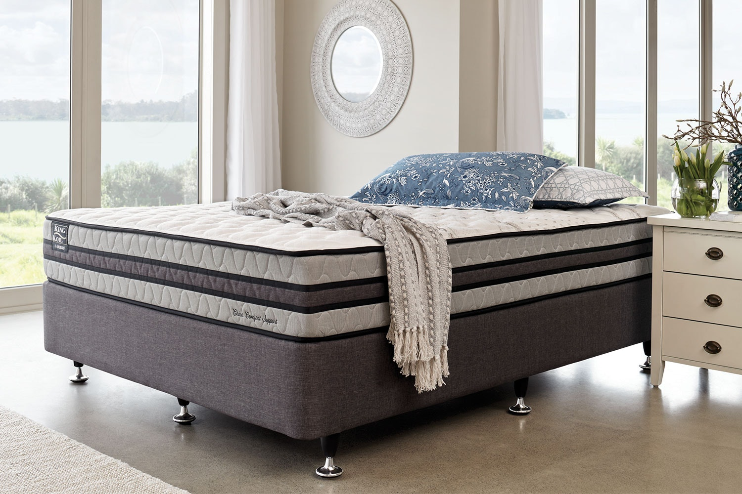 Chiro Comfort Support Queen Bed by King Koil