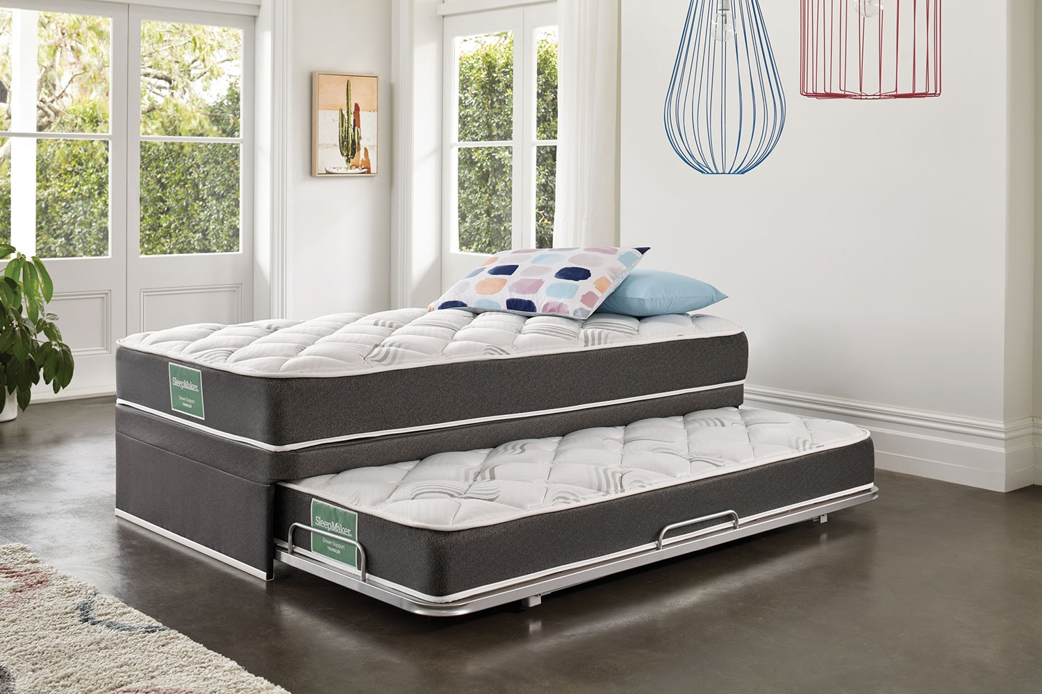 Picture of: Dream Support King Single Trundle Bed By Sleepmaker Harvey Norman New Zealand