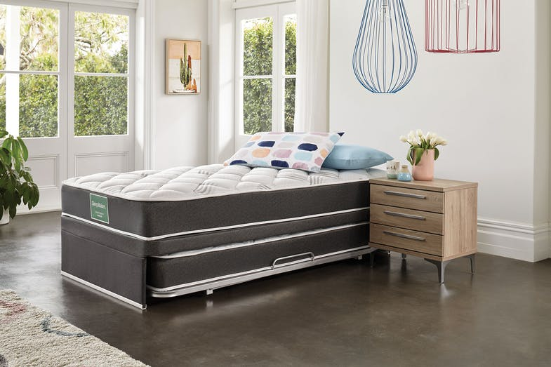 Dream Support King Single Trundle Bed by Sleepmaker