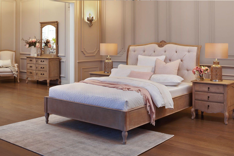 Cool Adele 4 Piece Queen Dresser And Mirror Bedroom Suite By Vivin Interior Design Ideas Tzicisoteloinfo