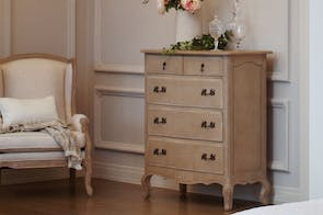 Adele 5 Drawer Tallboy by Vivin