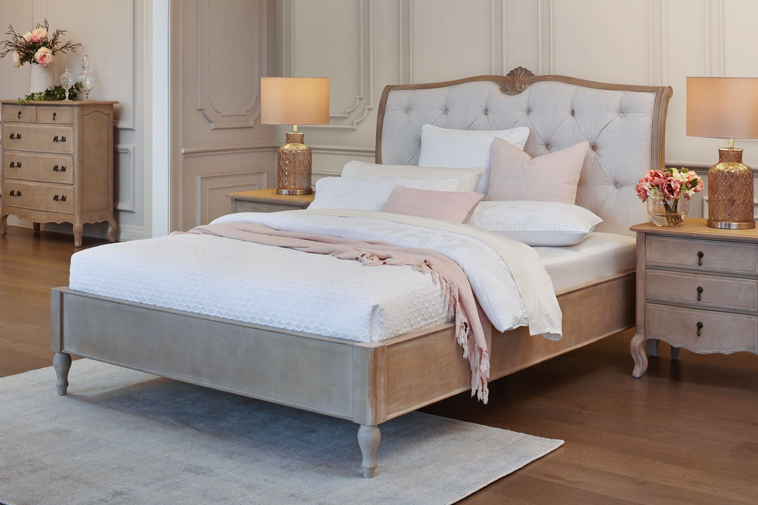 Adele Queen Bed Frame by Vivin