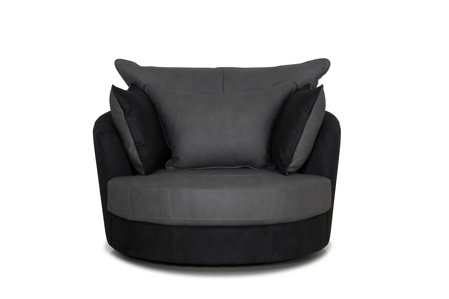 Atlas Large Fabric Swivel Chair