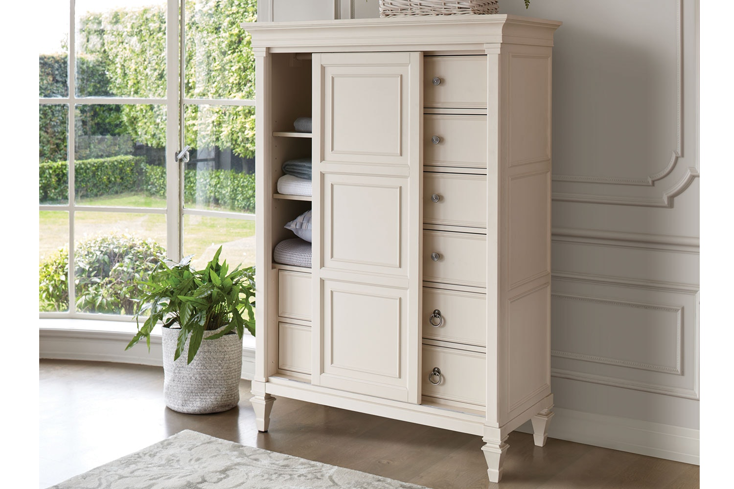 Ashby Chest with Sliding Door by Garry Masters
