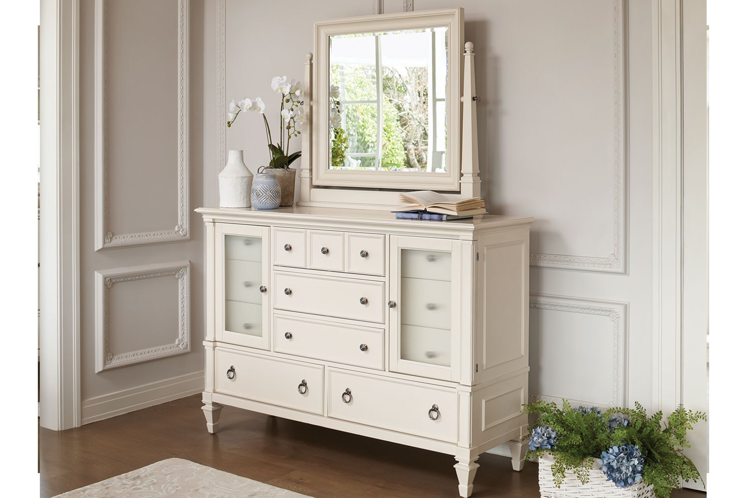 Ashby Dresser and Mirror by Garry Masters