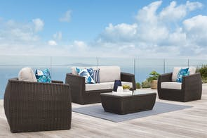 Ellie 4 Piece Outdoor Lounge Setting