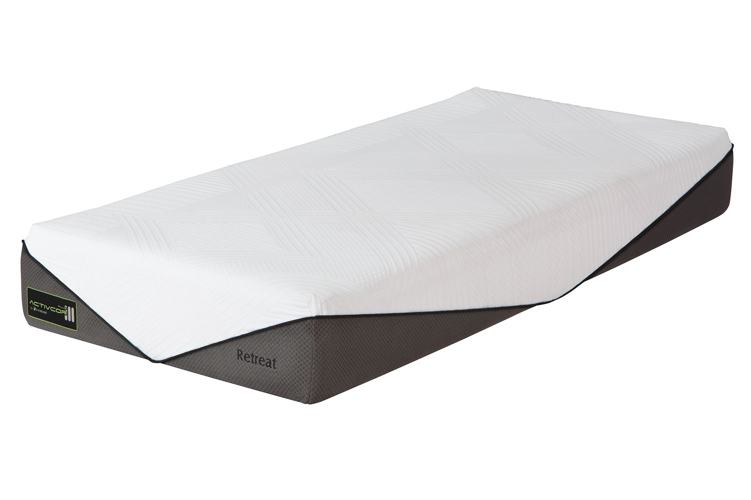 Activcor Retreat Long Single Mattress by A.H. Beard