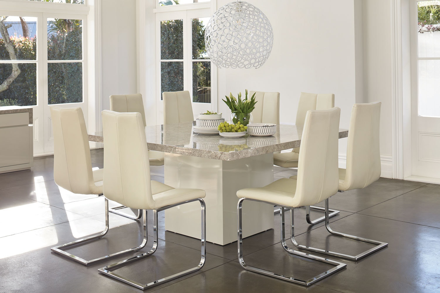 Marmo Square Dining Table By Insato Furniture Harvey Norman New Zealand