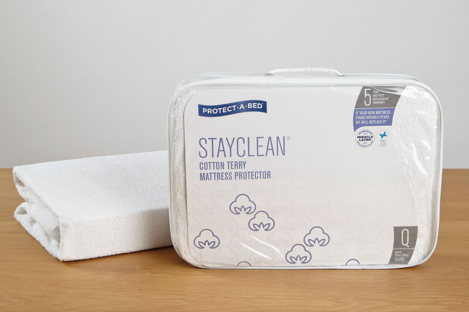 Stayclean Mattress Protector By Protect A Bed Harvey Norman New Zealand
