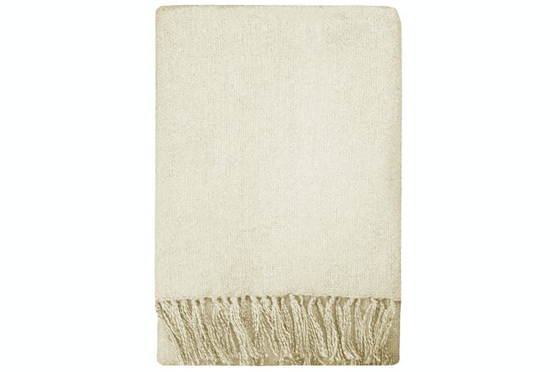 Rhapsody Acrylic Throw by Mulberi - Neutral