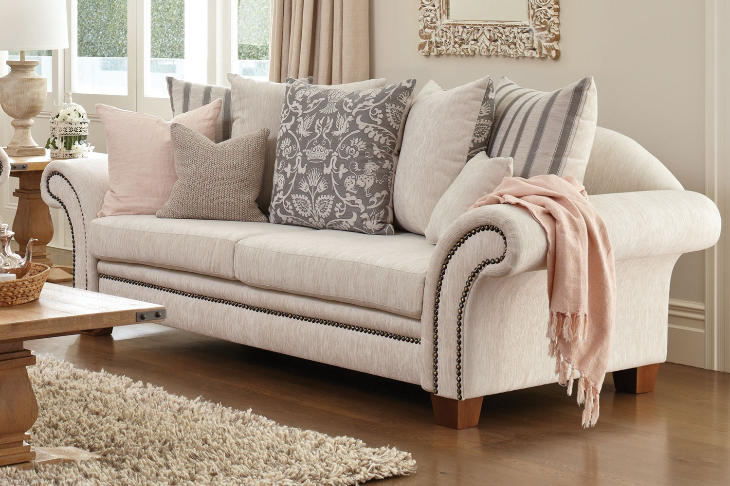Westwood 3 Seater Fabric Sofa by Furniture Haven