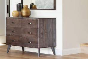 Melba 6 Drawer Lowboy by Woodpecker Furniture
