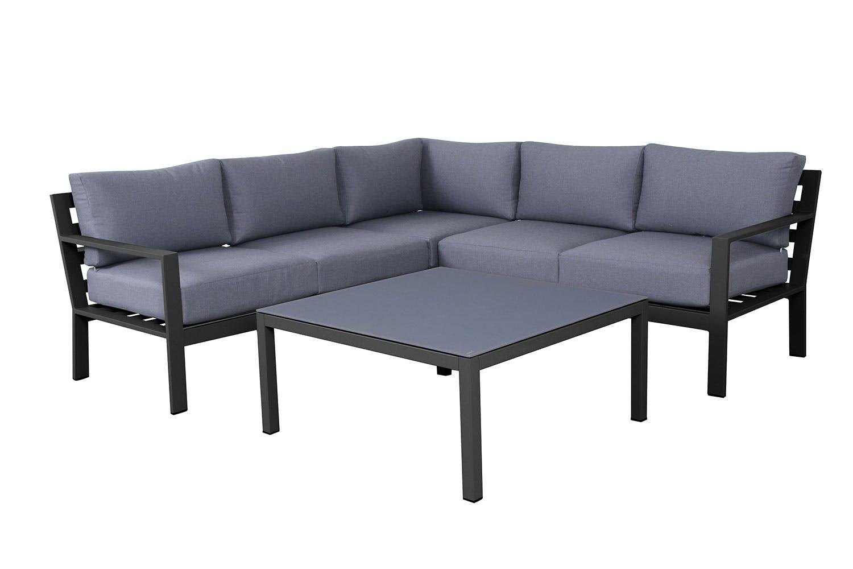 Cyprus outdoor corner lounge setting harvey norman new zealand