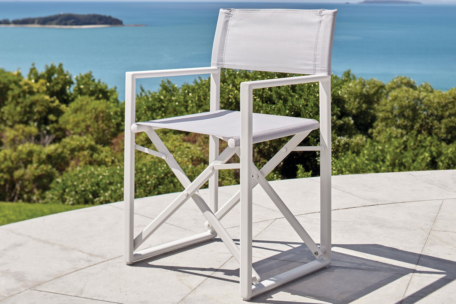 Directors Outdoor Dining Chair - White