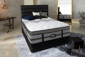Empire Queen Bed by Beautyrest Black