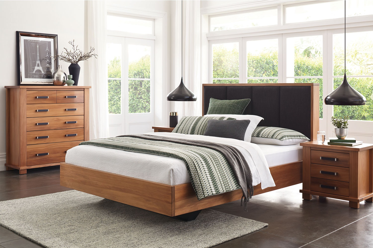 Huntsman Float King Bed Frame by Ezirest Furniture