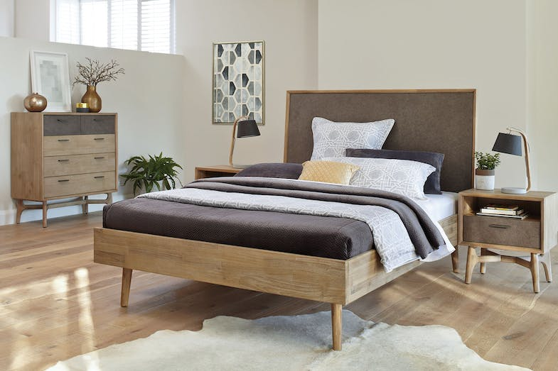 Estrada Queen Bed Frame by Dixie Cummings