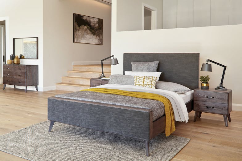 Melba Queen Bed Frame by Woodpecker Furniture