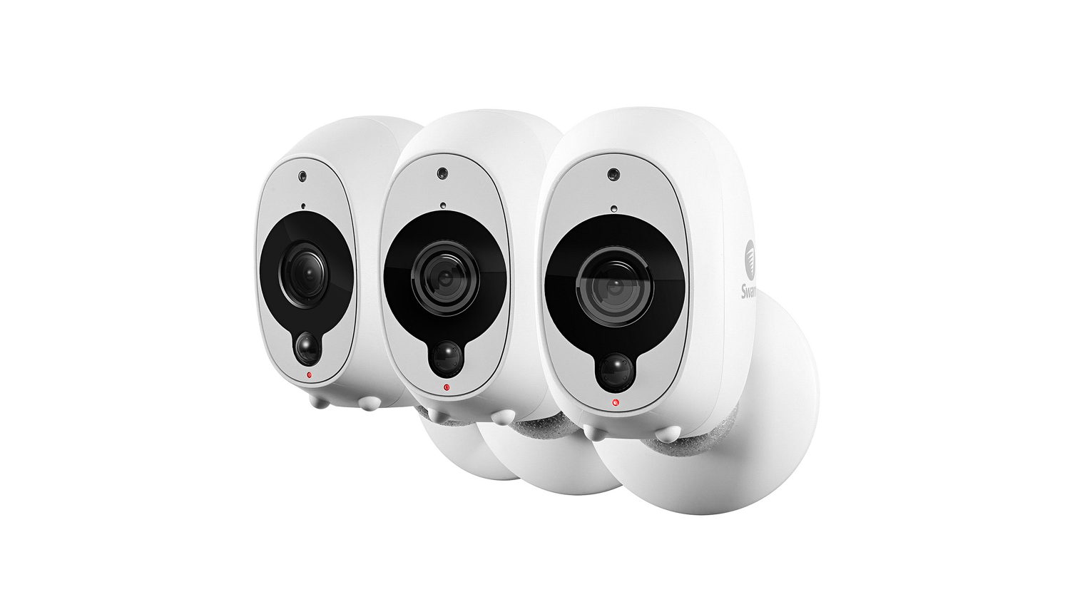 Swann Smart Security 1080p Battery Camera - 3 Pack