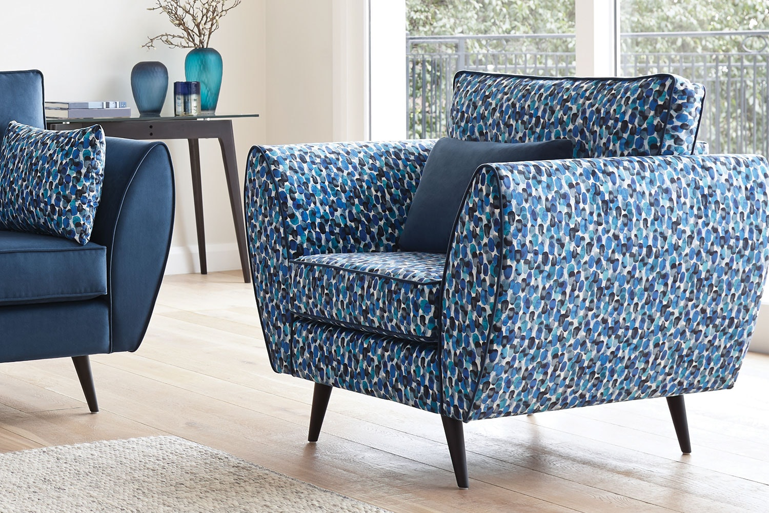 Euro Fabric Armchair by White Rose Furniture