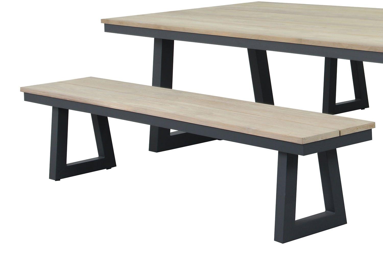 Sonar outdoor bench stool