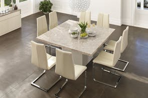 Marmo 9 Piece Dining Suite by Insato Furniture