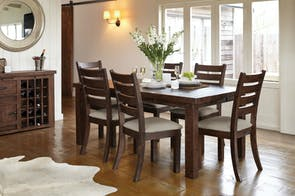 Barnyard 7 Piece Dining Suite by Debonaire Furniture