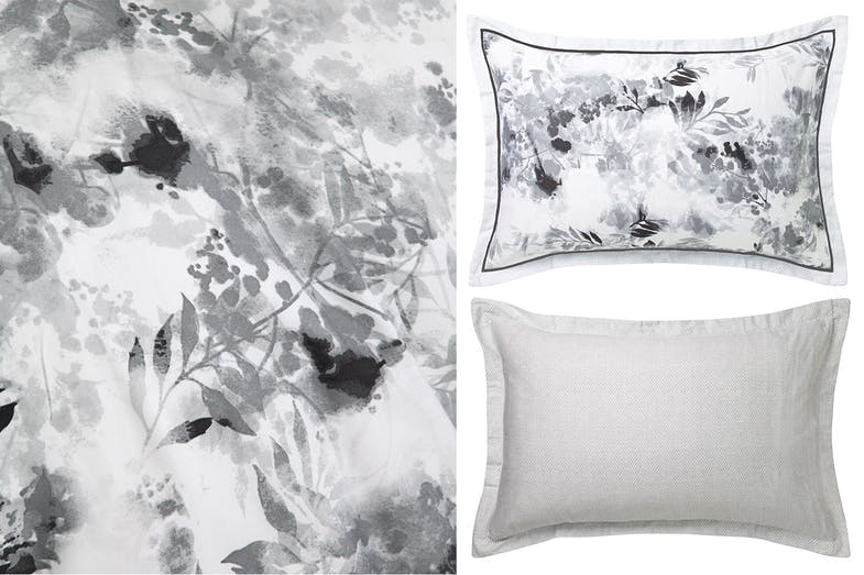 Lior Silver Duvet Cover Set by Logan and Mason