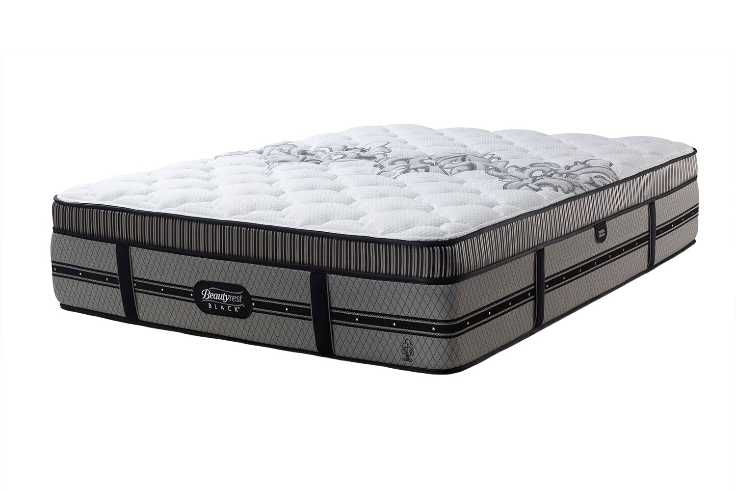 Empire Medium Queen Mattress by Beautyrest Black