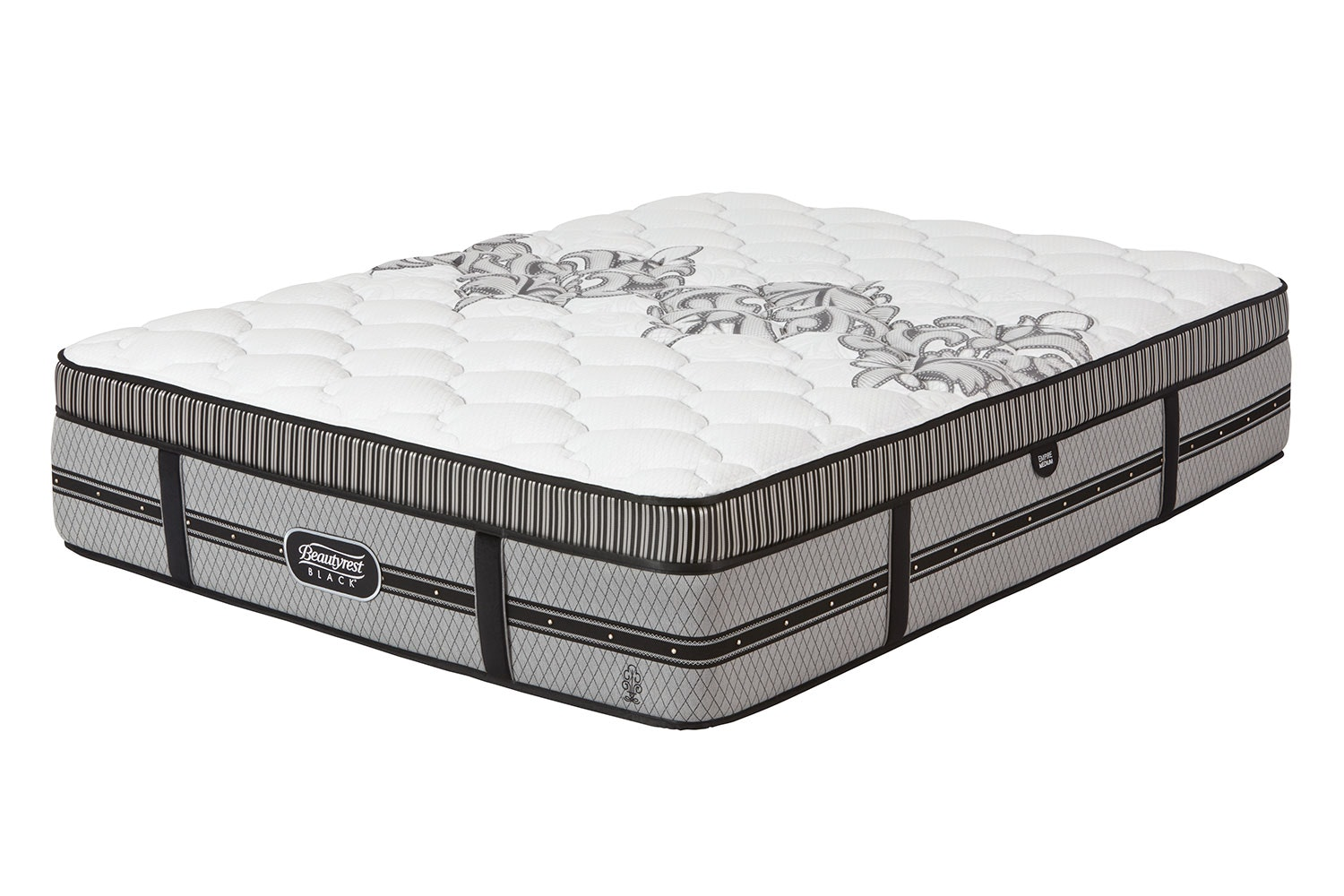 Empire Plush Queen Mattress by Beautyrest Black