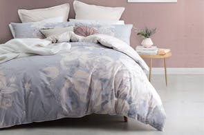 Flora Dusk Duvet Cover Set by Logan and Mason