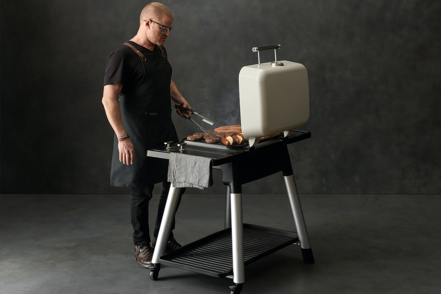 Everdure Force 2 Burner Gas Barbeque by Heston Blumenthal