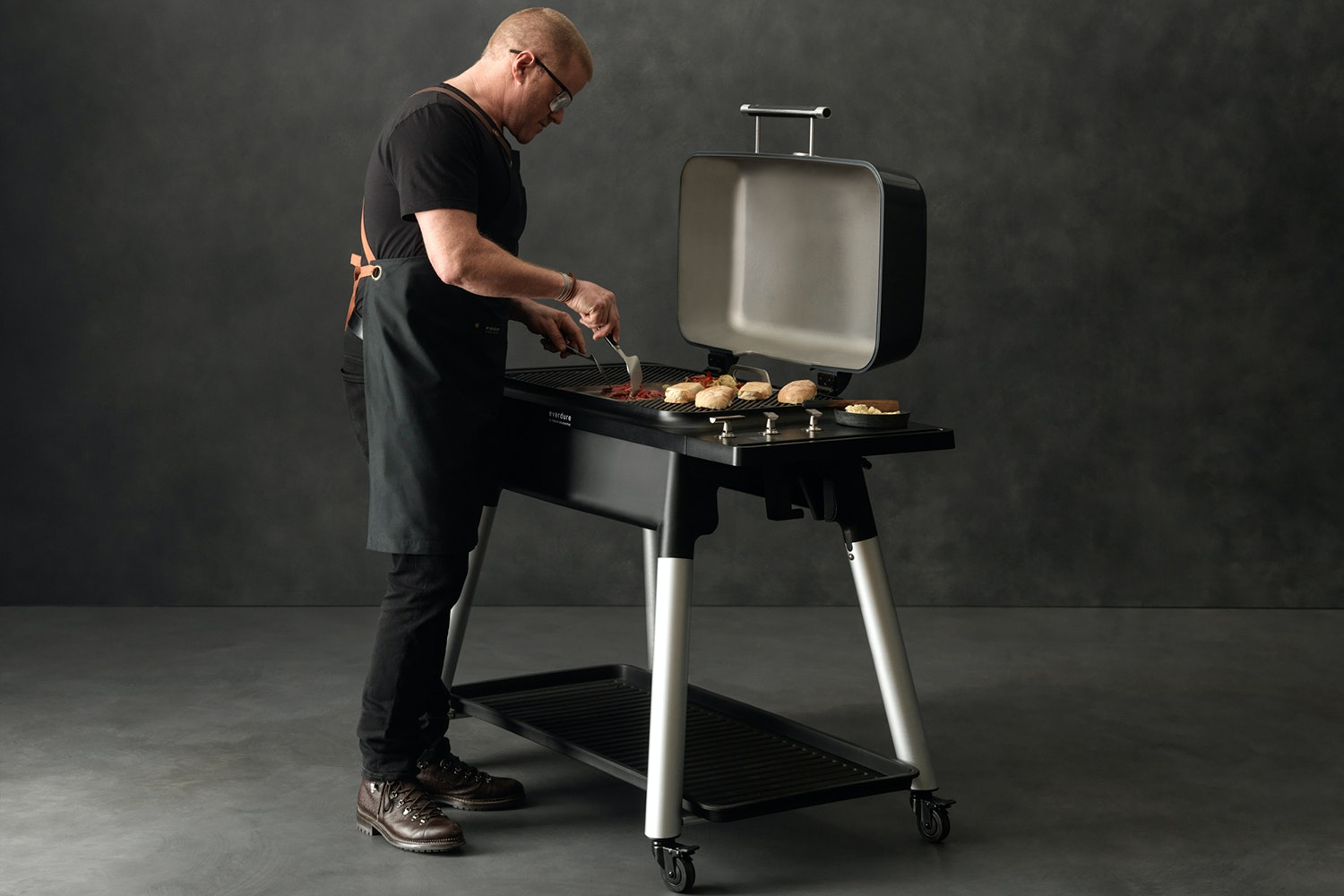 Everdure Furnace 3 Burner Gas Barbeque by Heston Blumenthal