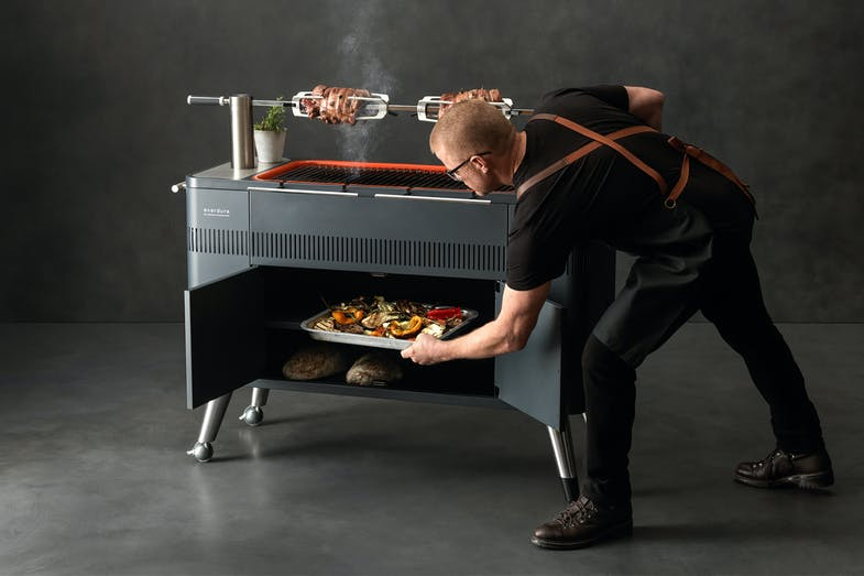 Everdure Hub Charcoal Barbeque by Heston Blumenthal