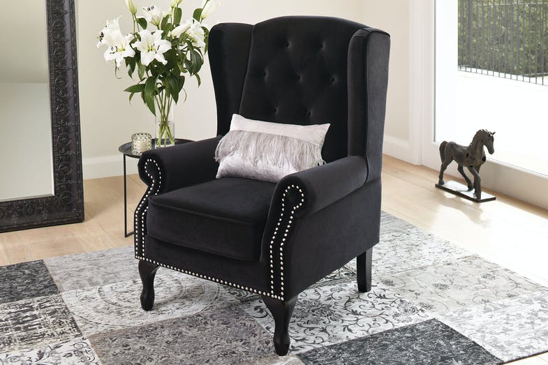 Marchello Wing Chair by Nero Furniture