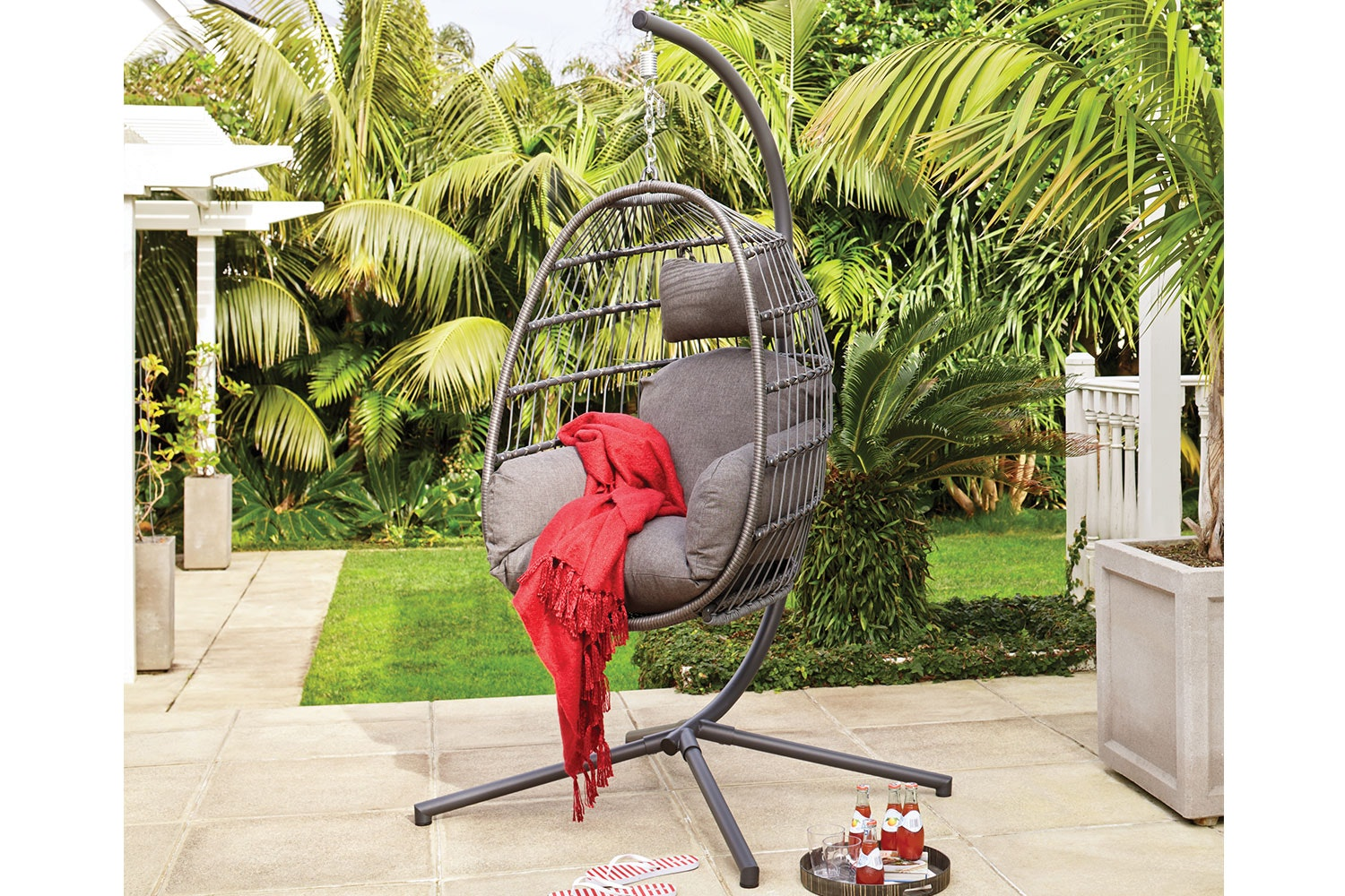 Maui Rope Hanging Egg Chair Harvey Norman New Zealand