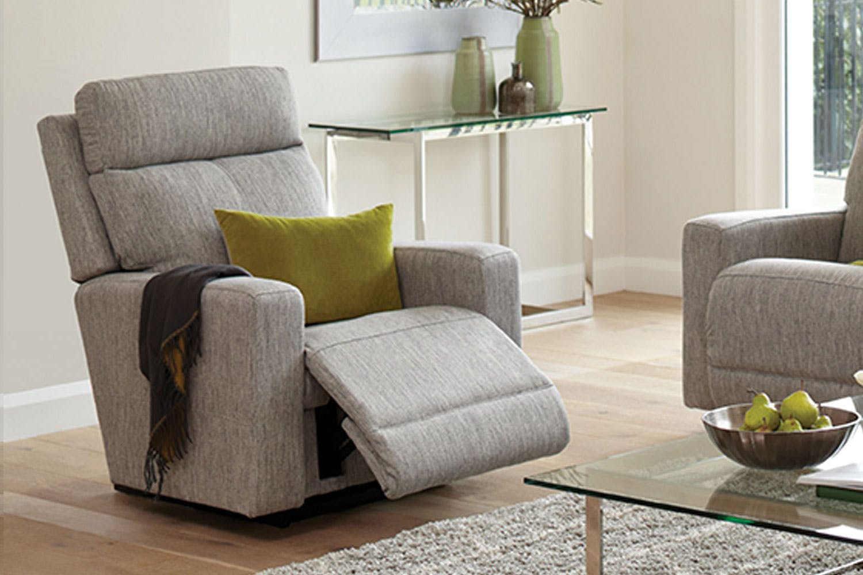 Jax Fabric Recliner Chair By La Z Boy Harvey Norman New