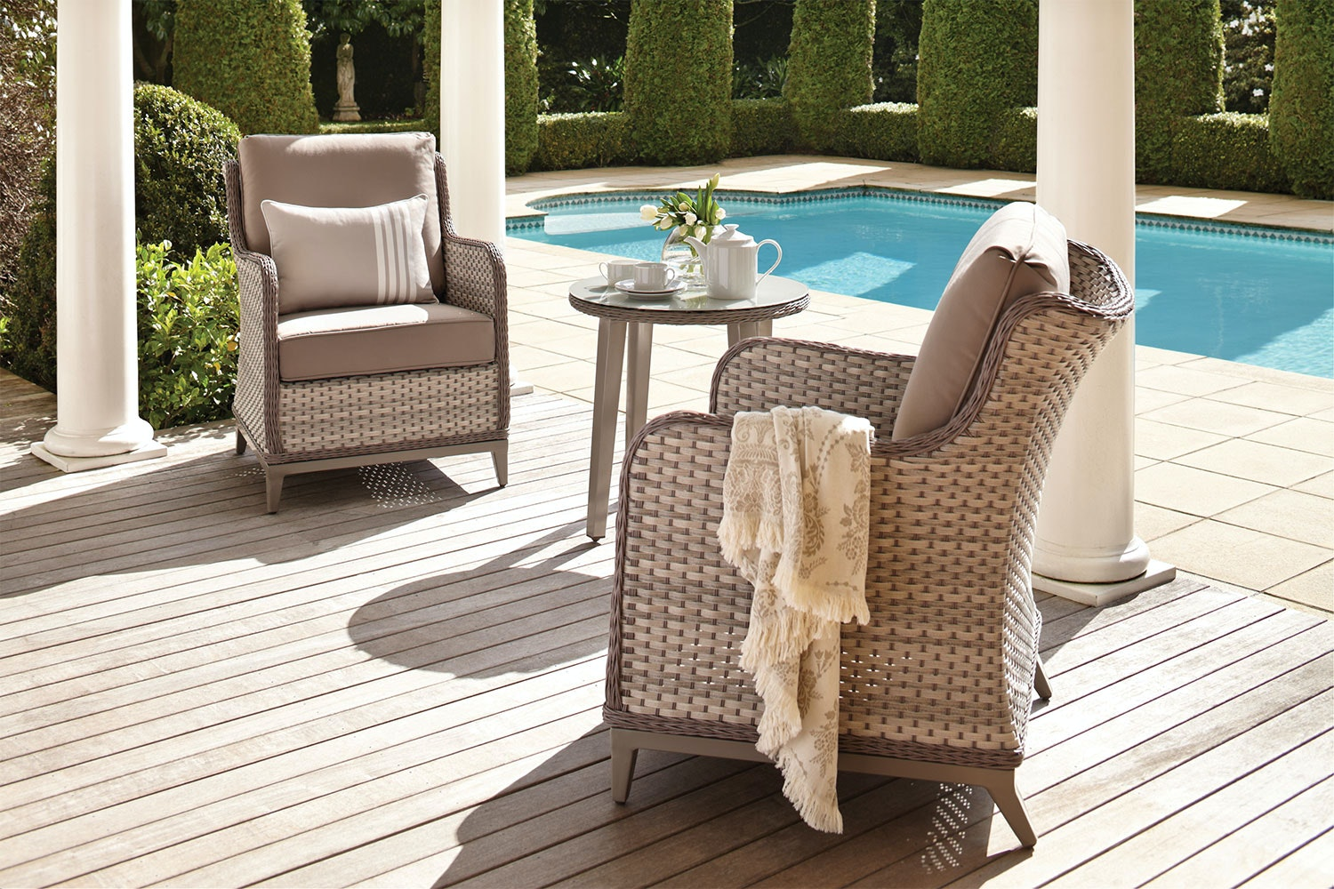 Orlando 3 Piece Outdoor Lounge Setting