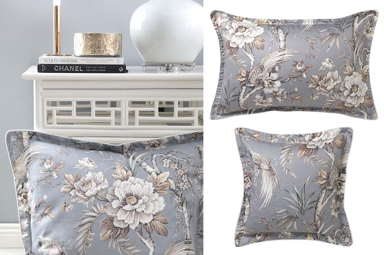 Woodbridge Dove Pillowcase and Square Cushion