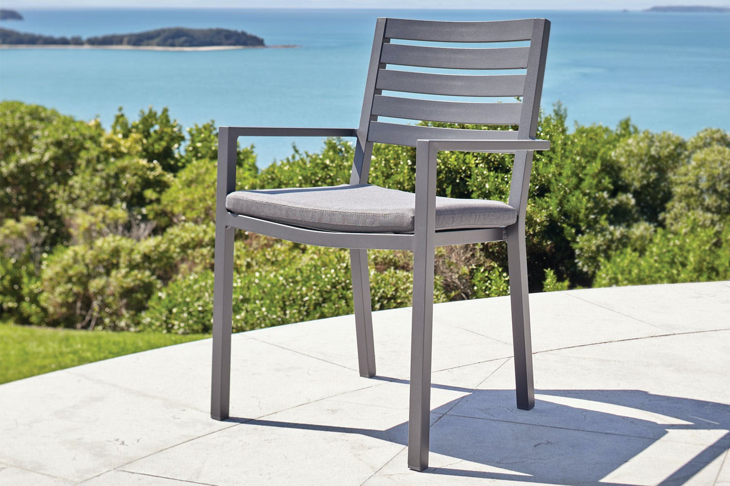 Cyprus outdoor dining chair harvey norman new zealand