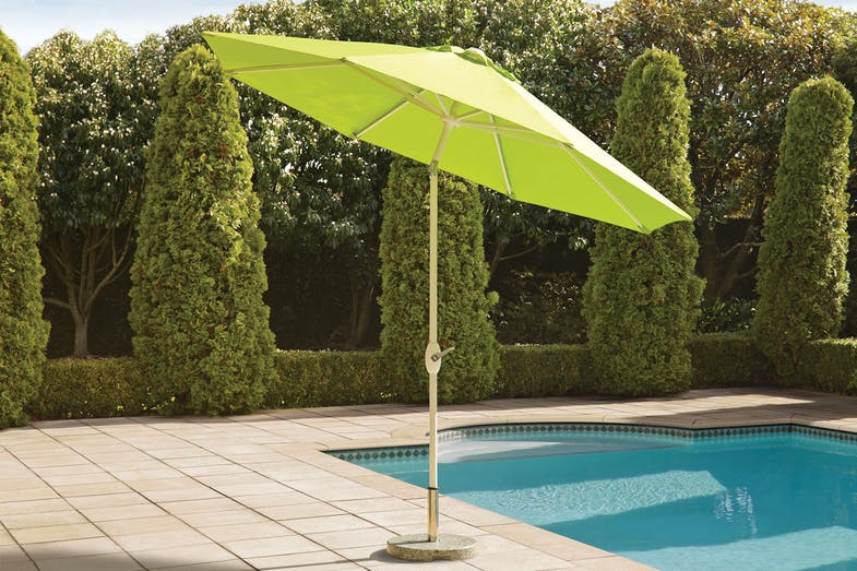 Florida Green 2.7m Outdoor Umbrella by Peros