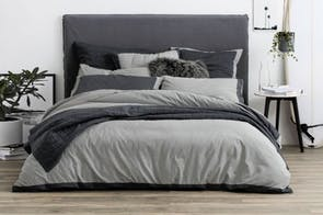 Orlando Fog Duvet Cover Set by Sheridan
